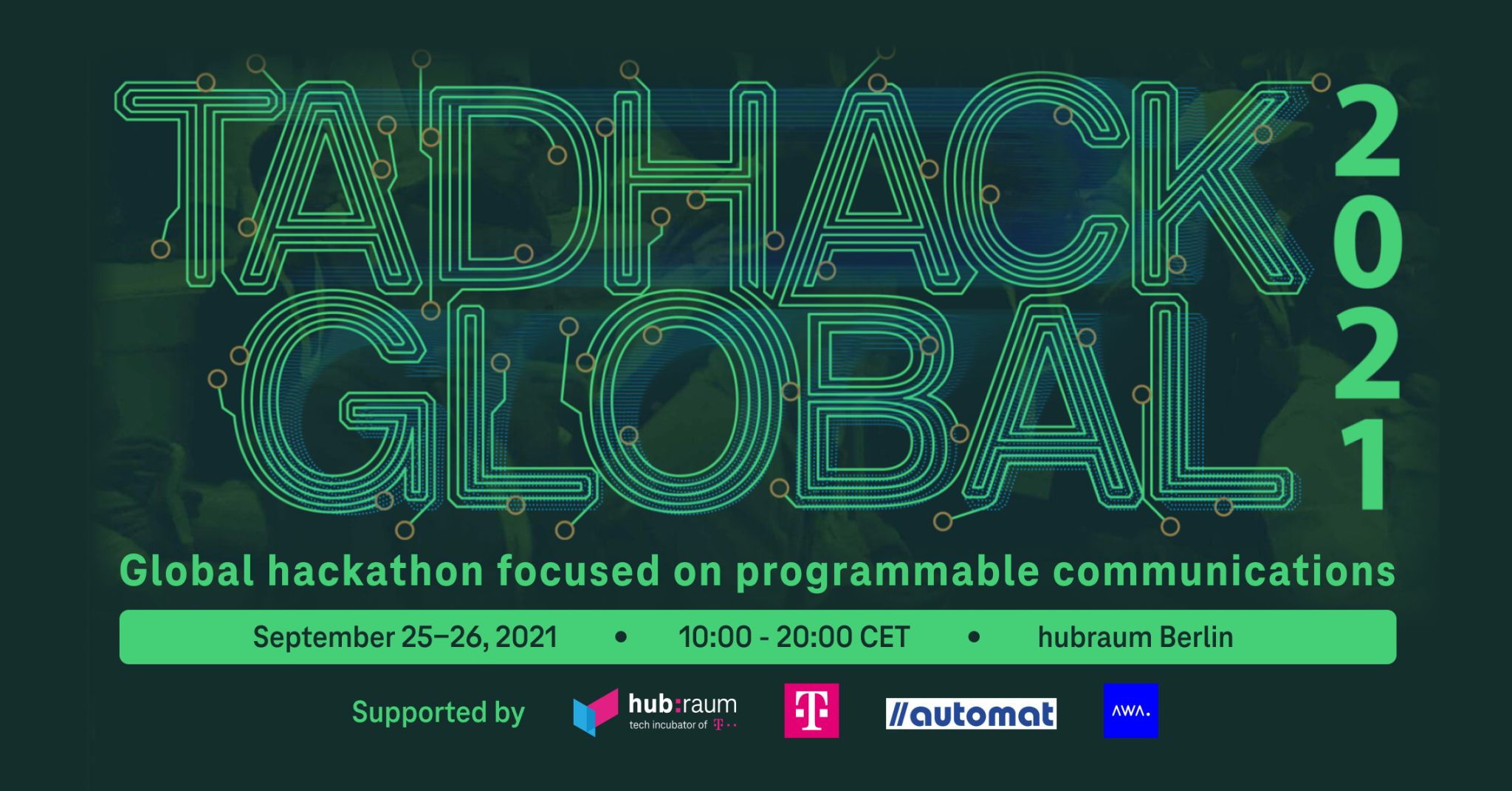 AWA Hackathon in Germany – we are there this weekend!